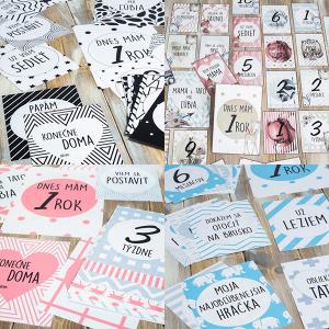 Míľnikové kartičky